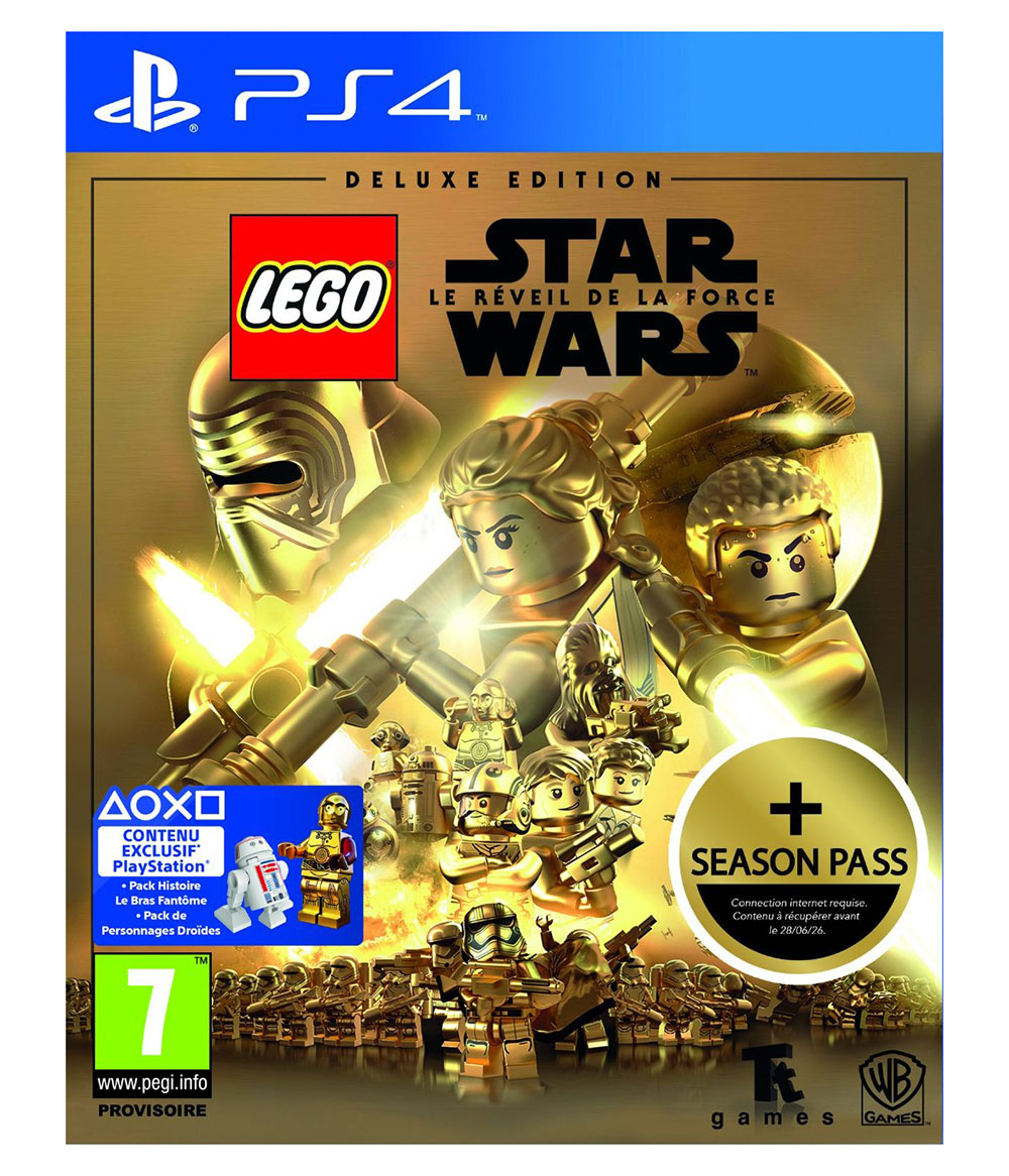 lego jeux vid o ps4swlrfde pas cher lego star wars le. Black Bedroom Furniture Sets. Home Design Ideas