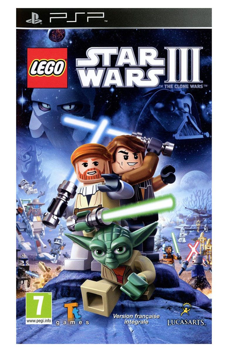 lego jeux vid o pspswtcw pas cher lego star wars iii the clone wars psp. Black Bedroom Furniture Sets. Home Design Ideas