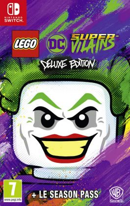 LEGO Jeux vidéo SWITCH-LDCSV-DE LEGO DC Super-Vilains Deluxe Edition - Nintendo Switch
