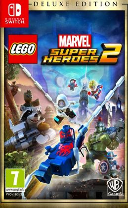 LEGO Jeux vidéo SWITCH-LMSH2-DE LEGO Marvel Super Heroes 2 Deluxe Edition - Nintendo Switch