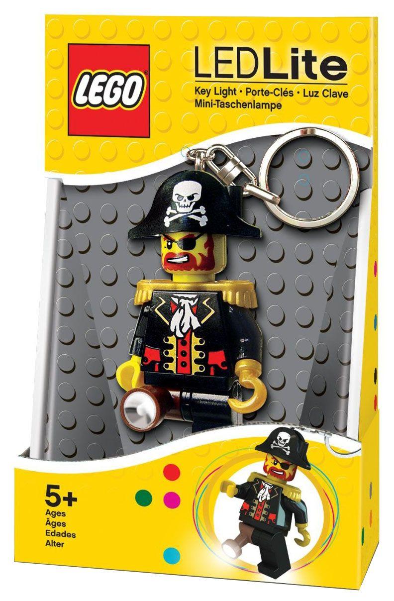 lego porte cl s ut50854 pas cher porte cl s lumineux captain brickbeard. Black Bedroom Furniture Sets. Home Design Ideas