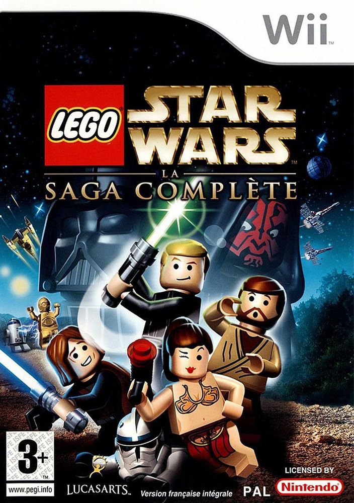 Lego jeux vid o wiiswlsc pas cher lego star wars la - Bd lego star wars ...