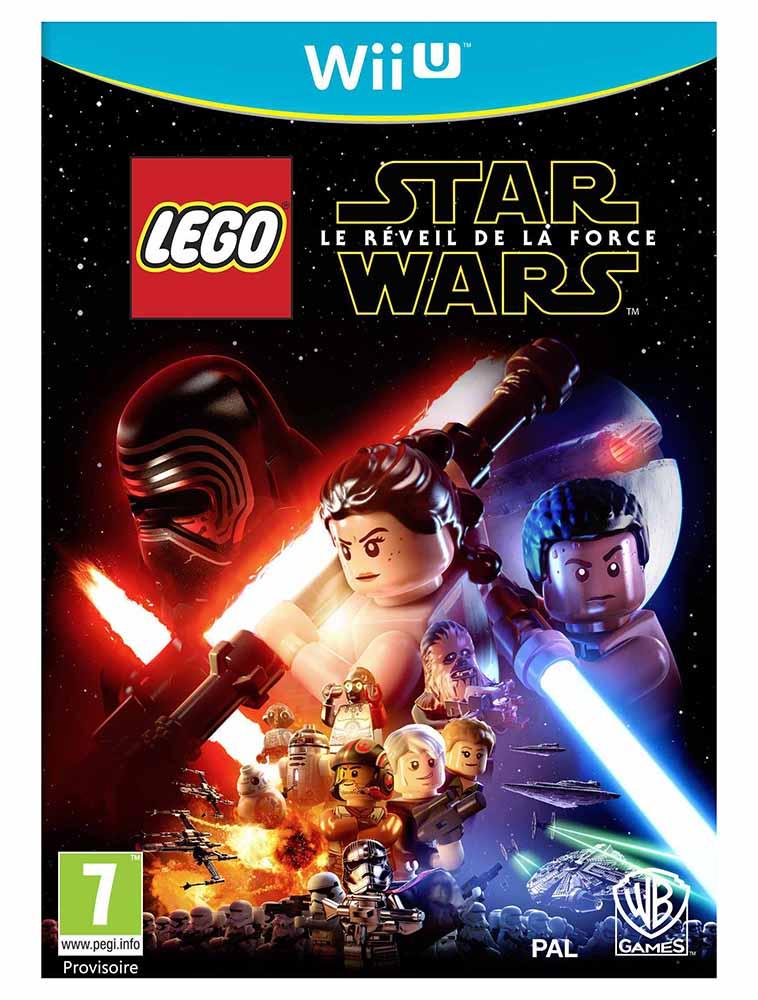 lego jeux vid o wiiuswlrf pas cher lego star wars le r veil de la force wii u. Black Bedroom Furniture Sets. Home Design Ideas