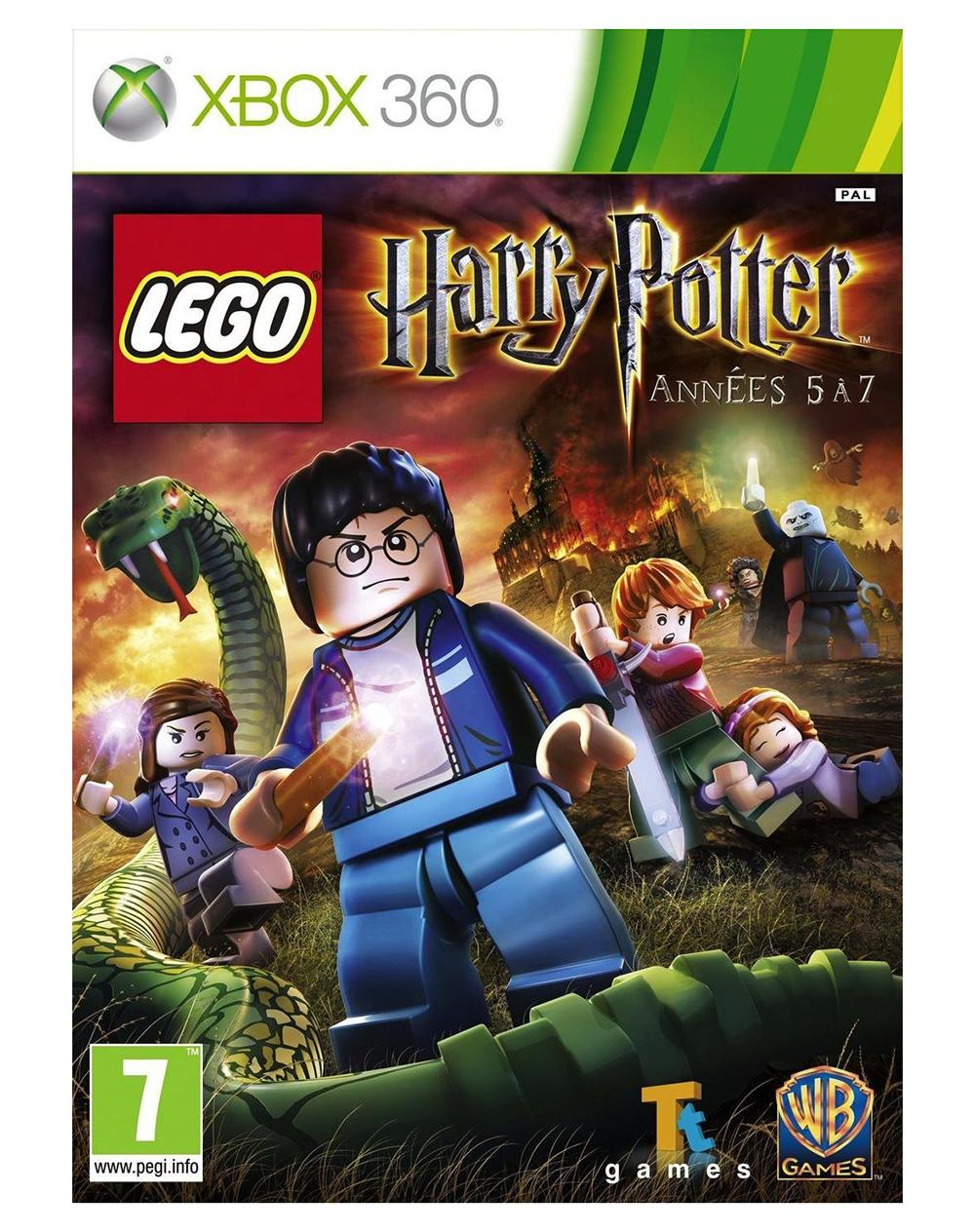 lego jeux vid o xb360lhp57 pas cher lego harry potter. Black Bedroom Furniture Sets. Home Design Ideas