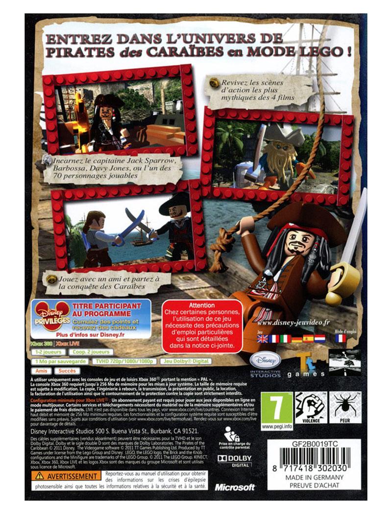 Lego jeux vid o xb360lpdc pas cher lego des pirates des - Jeux de jack et les pirates ...