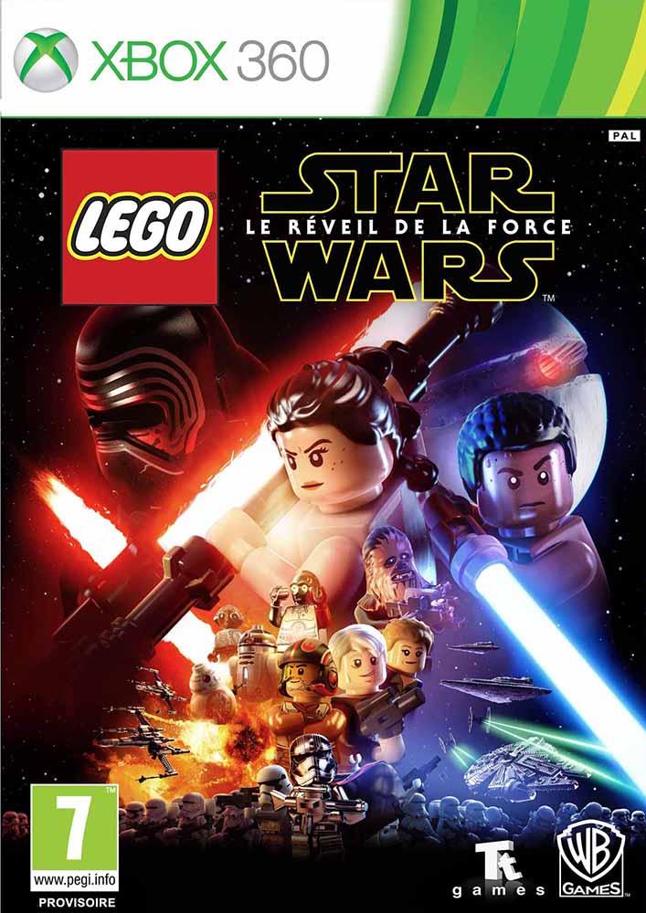 lego jeux vid o xb360swlrf pas cher lego star wars le r veil de la force xbox 360. Black Bedroom Furniture Sets. Home Design Ideas