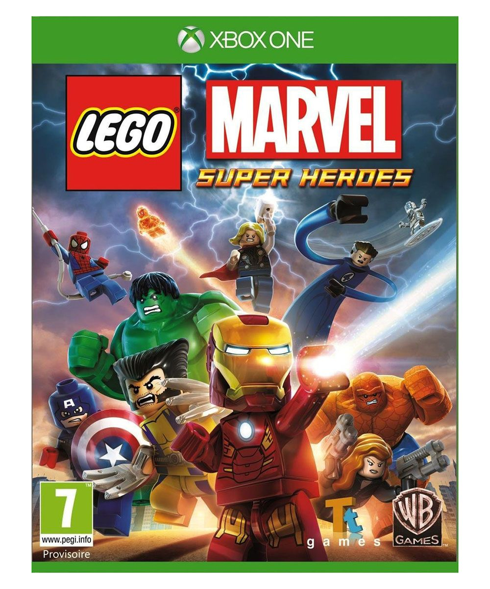 lego jeux vid o xbolmsh pas cher lego marvel super heroes xbox one. Black Bedroom Furniture Sets. Home Design Ideas