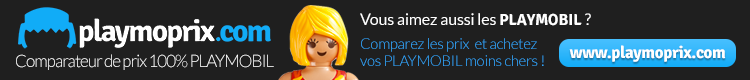 Playmoprix.com Comparateur de prix 100% PLAYMOBIL