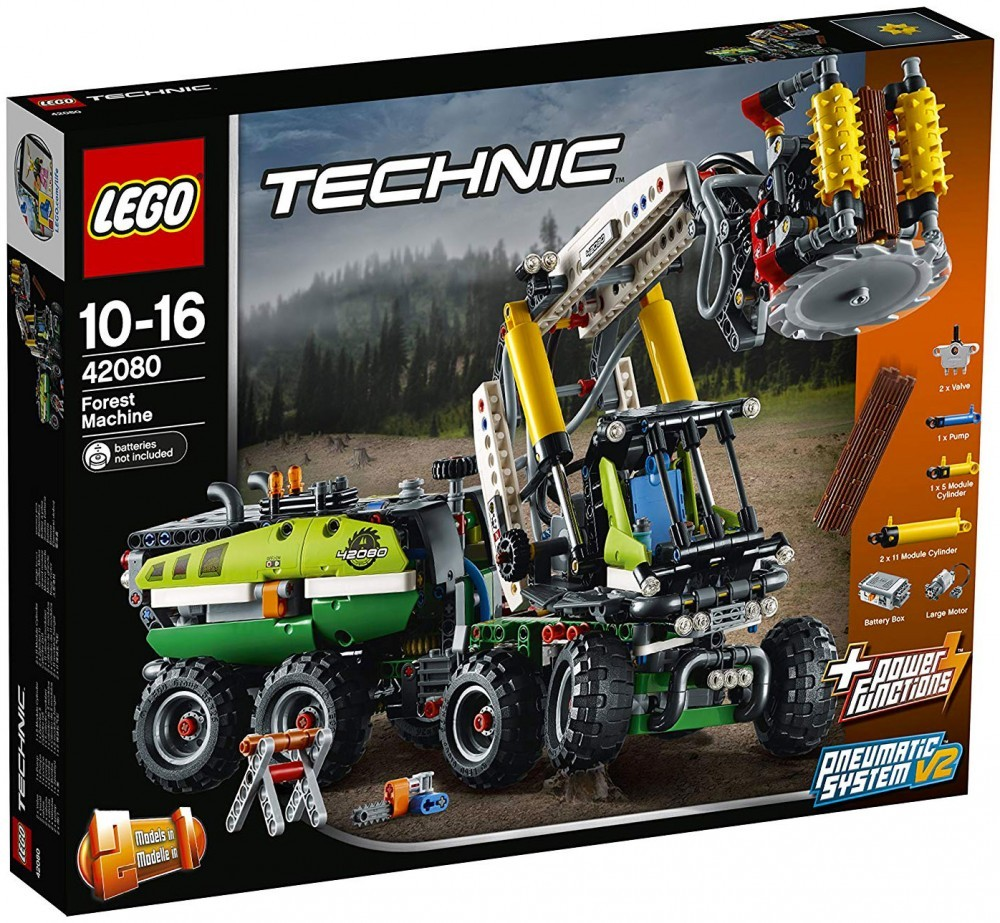 Nouveau LEGO Technic 42080 Forest Machine 2018