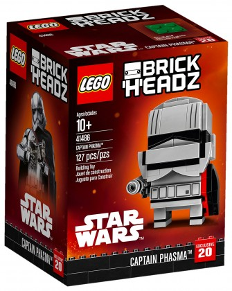 Nouveau LEGO BrickHeadz 41486 Capitaine Phasma (Star Wars)