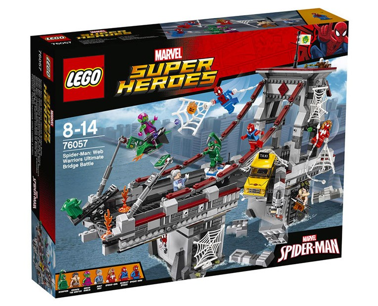 LEGO Marvel Super Heroes  76057 - Spider-Man: Web Warriors Ultimate Bridge Battle - Photo 1