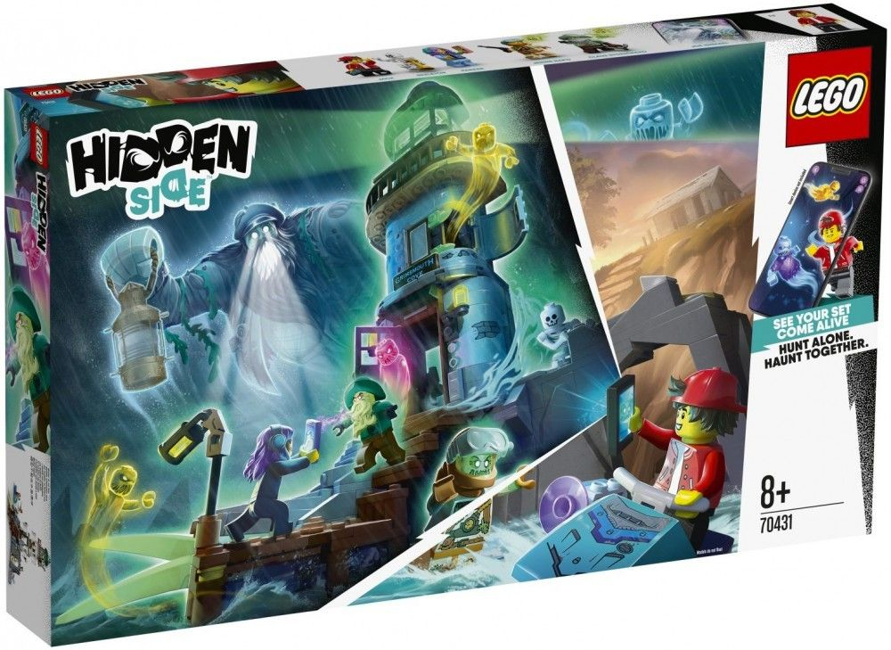 Nouveau LEGO Hidden Side 70431 The Lighthouse of Darkness // Janvier 2020