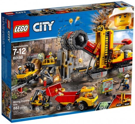 Nouveau LEGO City 60188 Mining Experts Site 2018
