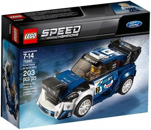 Nouveau LEGO Speed Champions 75885 Ford Fiesta WRF M-Sport 2018