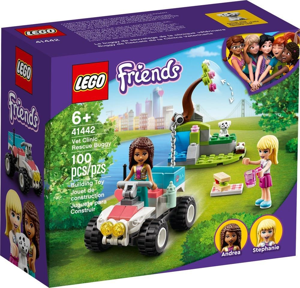 LEGO Friends 41442 vet clinic rescue buggy // mars 2021