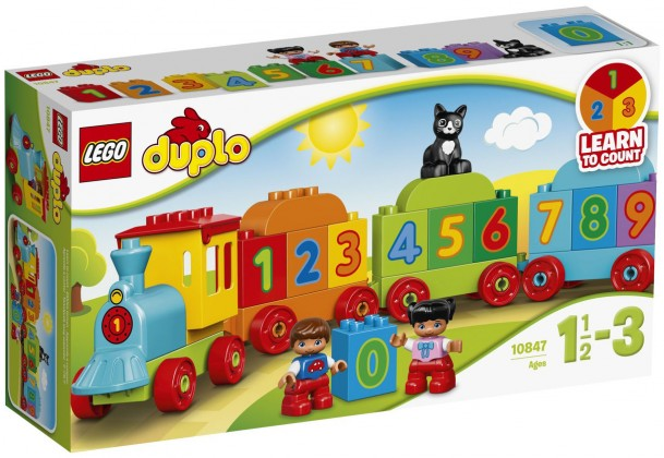 Nouveau LEGO Duplo 10847 My First Number Train 2017