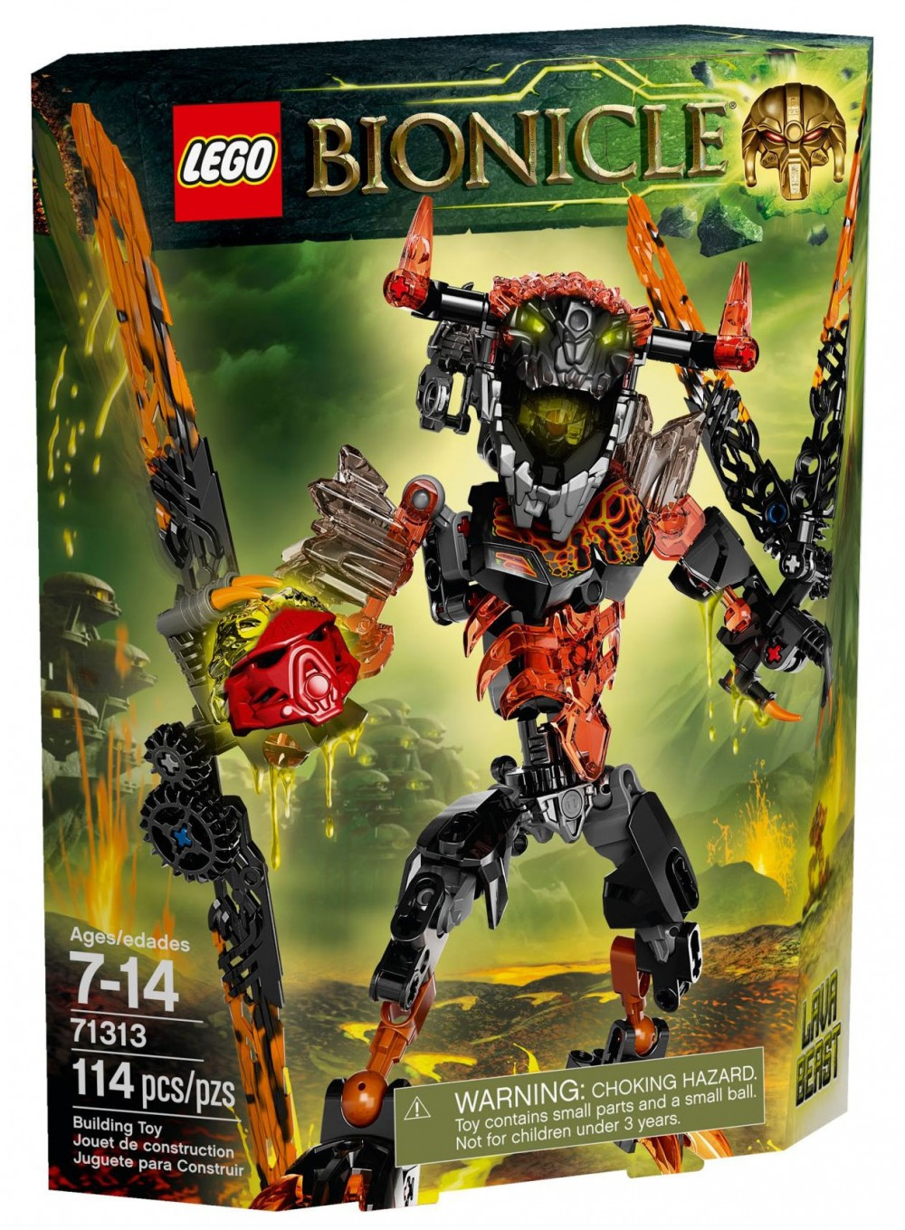LEGO Bionicle 71313 - La bête de lave - photo 1