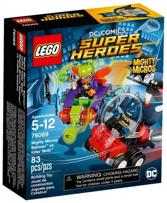 Nouveau LEGO DC Comics Super Heroes 76069 Mighty Micros Batman contre Killer Moth