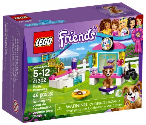 Nouveau LEGO Friends 41302 Puppy Pampering