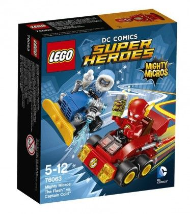 LEGO DC Comics Super Heroes Mighty Micros Flash contre Captain Cold
