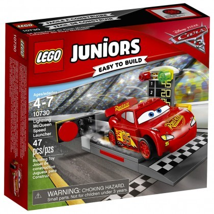 Nouveau LEGO Juniors 10730 Lightning McQueen Speed Launcher Juin 2017