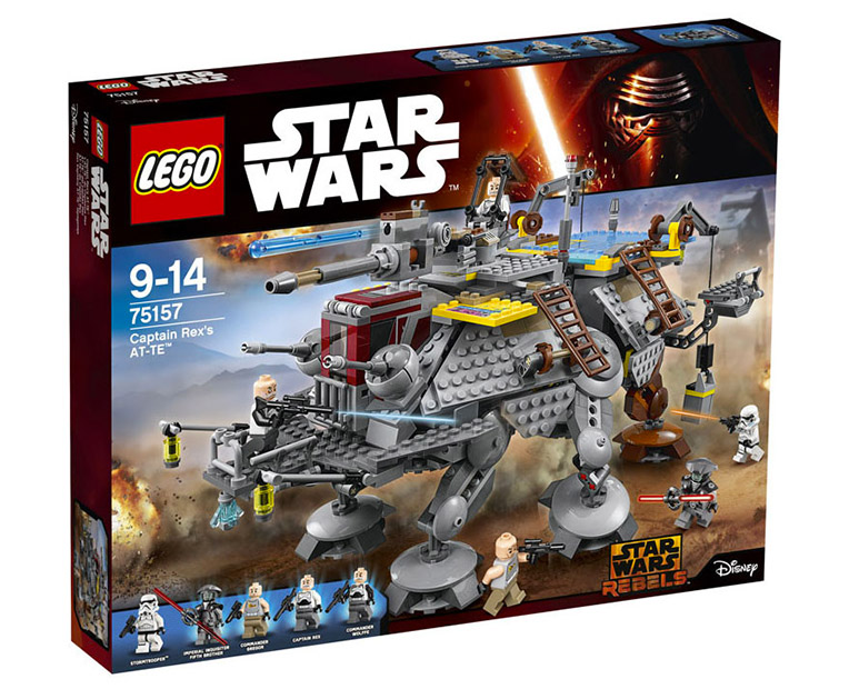 LEGO Star Wars 75157 - Captain Rex's AT-TE - photo 1