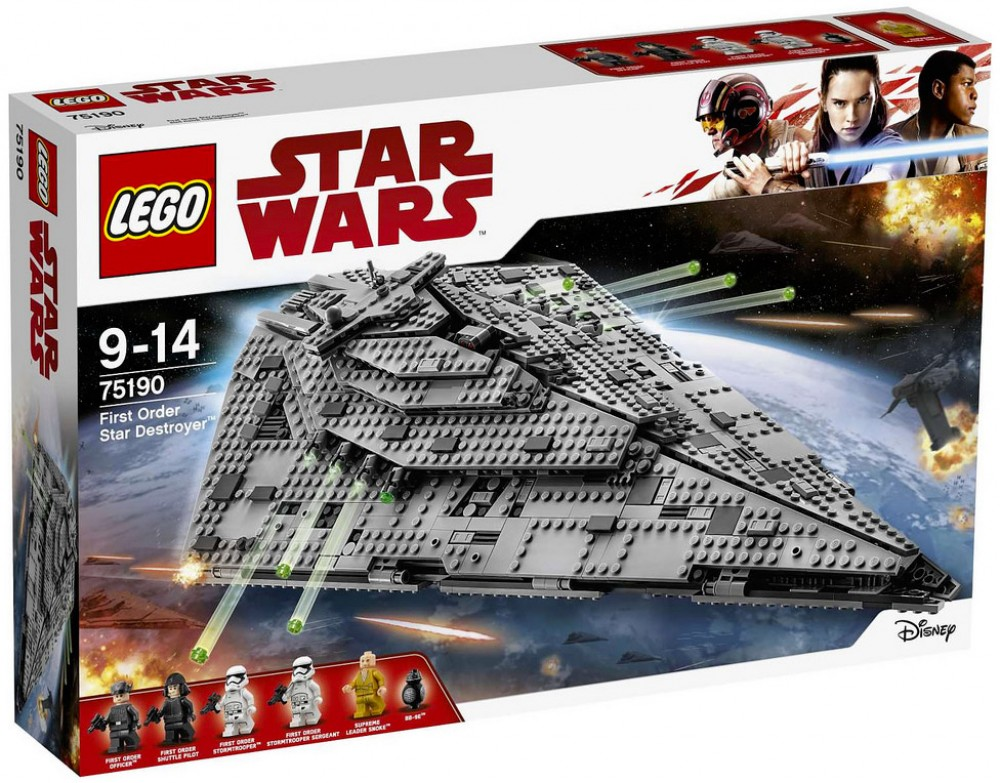LEGO Star Wars 75190 First Order Star Destroyer