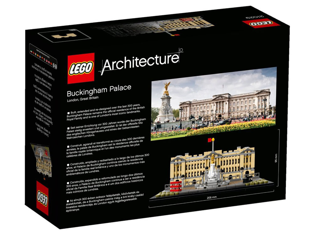 LEGO Architecture 21029 - Buckingham Palace - Photo 2