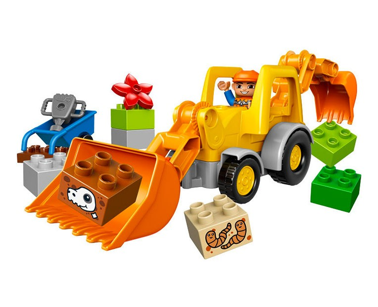 LEGO Duplo Backhoe Loader - 10811 - Photo 2