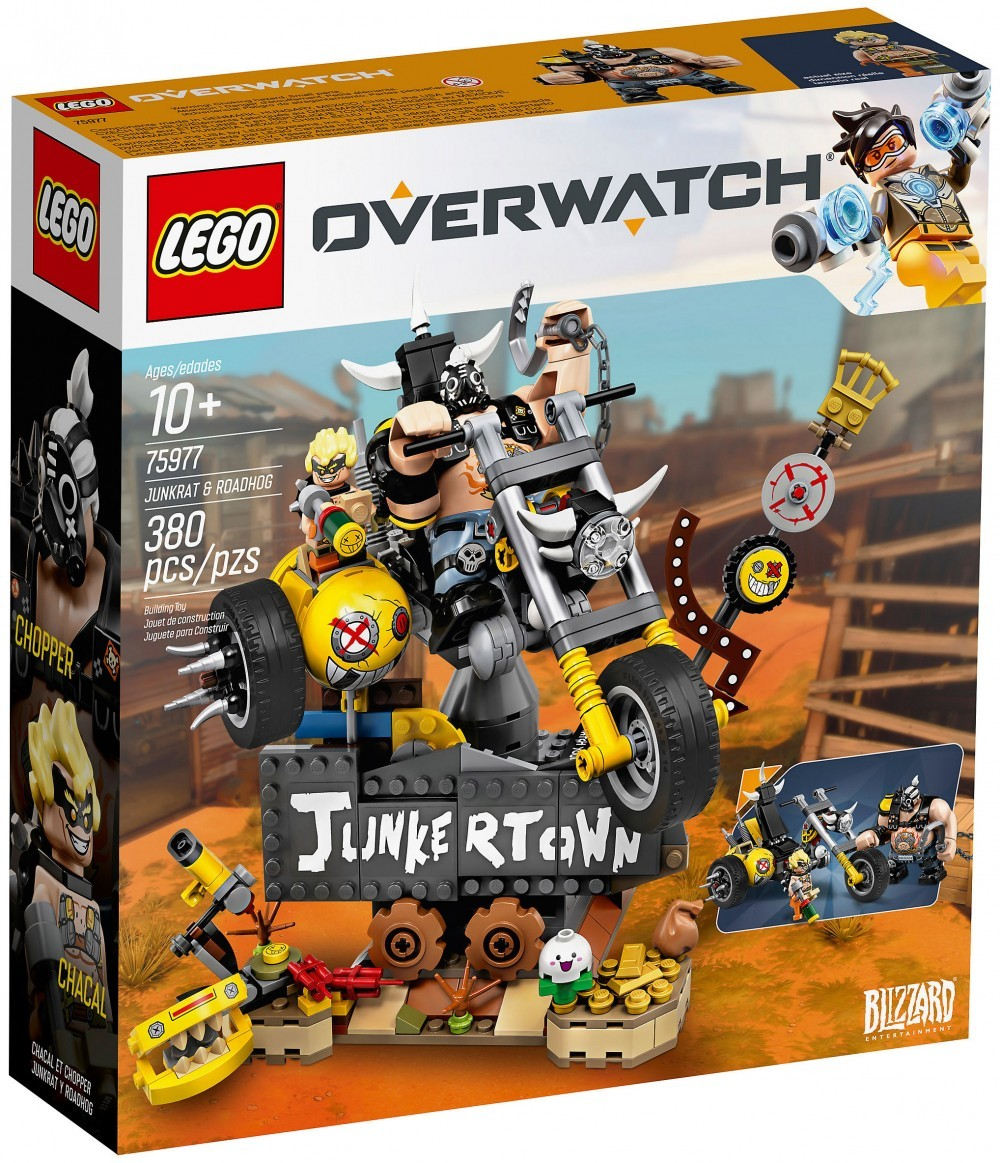 Nouveau LEGO Overwatch 75977 Chacal et Chopper Octobre 2019