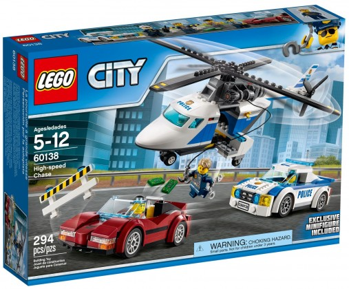 Nouveau LEGO City 60138 High speed Chase 2017