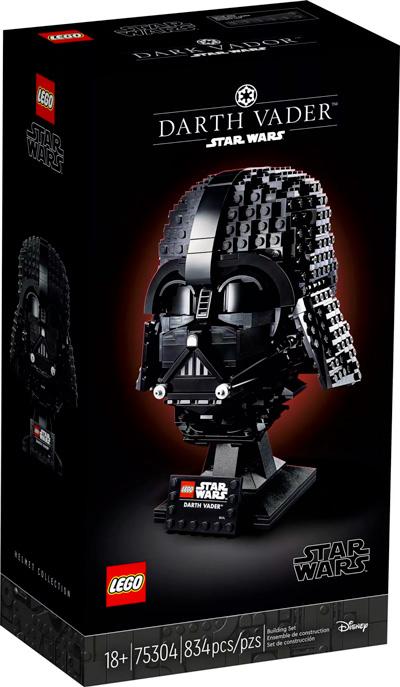 Nouveau LEGO Star Wars 75304 Le casque de Dark Vador // Mai 2021