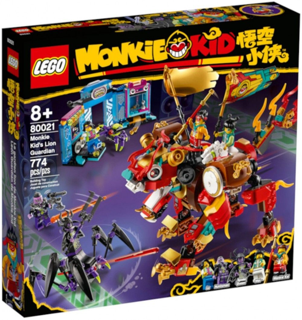 Nouveau LEGO Monkie Kid 80021 Monkie Kid's Lion Guardian // Mars 2021