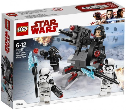 Nouveau LEGO Star Wars 75197 First Order Specialists Battle Pack 2018