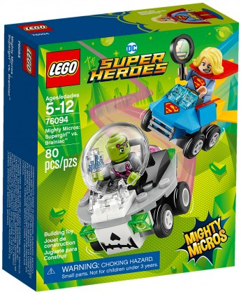 Nouveau LEGO DC Comics 76094 Mighty Micros : Supergirl contre Brainac 2018