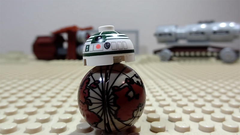 Bande annonce Star Wars 7 version LEGO