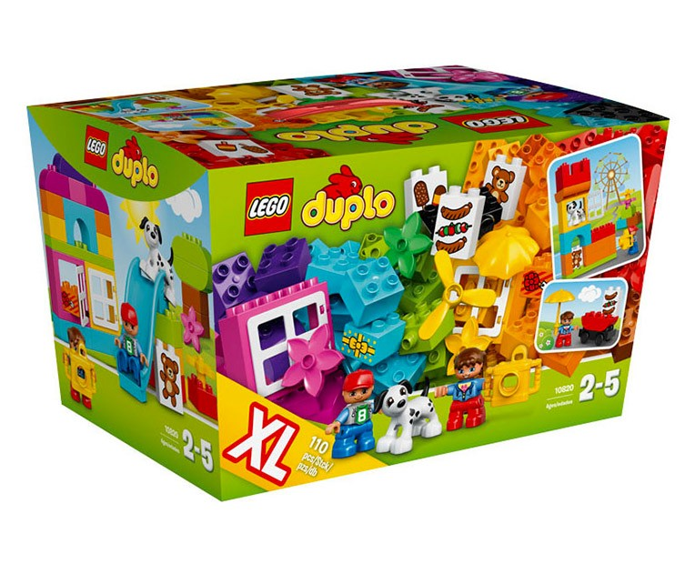 LEGO Duplo Creative Construction basket - 10820 - Photo 1