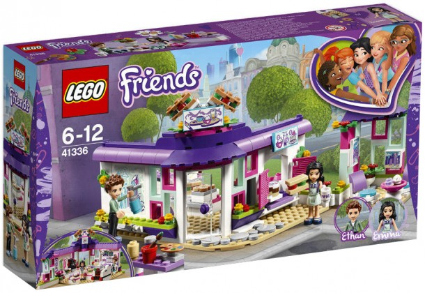 Nouveau LEGO Friends 41336 Emma's Art Cafe 2018