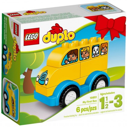 Nouveau LEGO Duplo 10851 My First Bus 2017