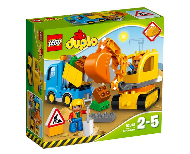 LEGO Duplo Truck & Tracked Excavator  - 10812 - Photo 1
