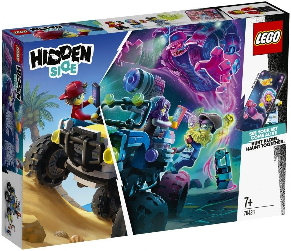 Nouveau LEGO Hidden Side 70428 Jack's Beach Buggy // Janvier 2020