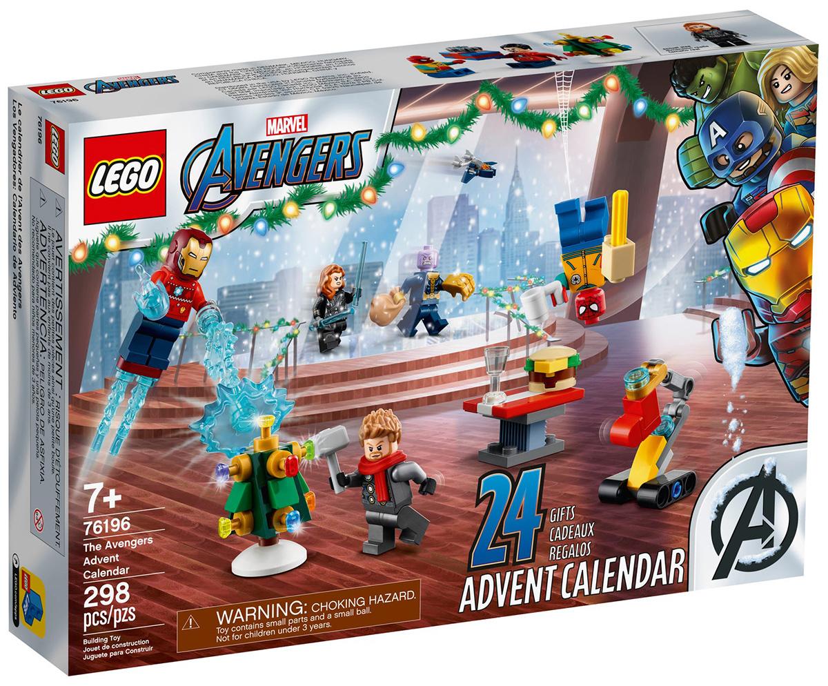LEGO 76196 Le calendrier de l'Avent LEGO des Avengers 2021 // Septembre 2021