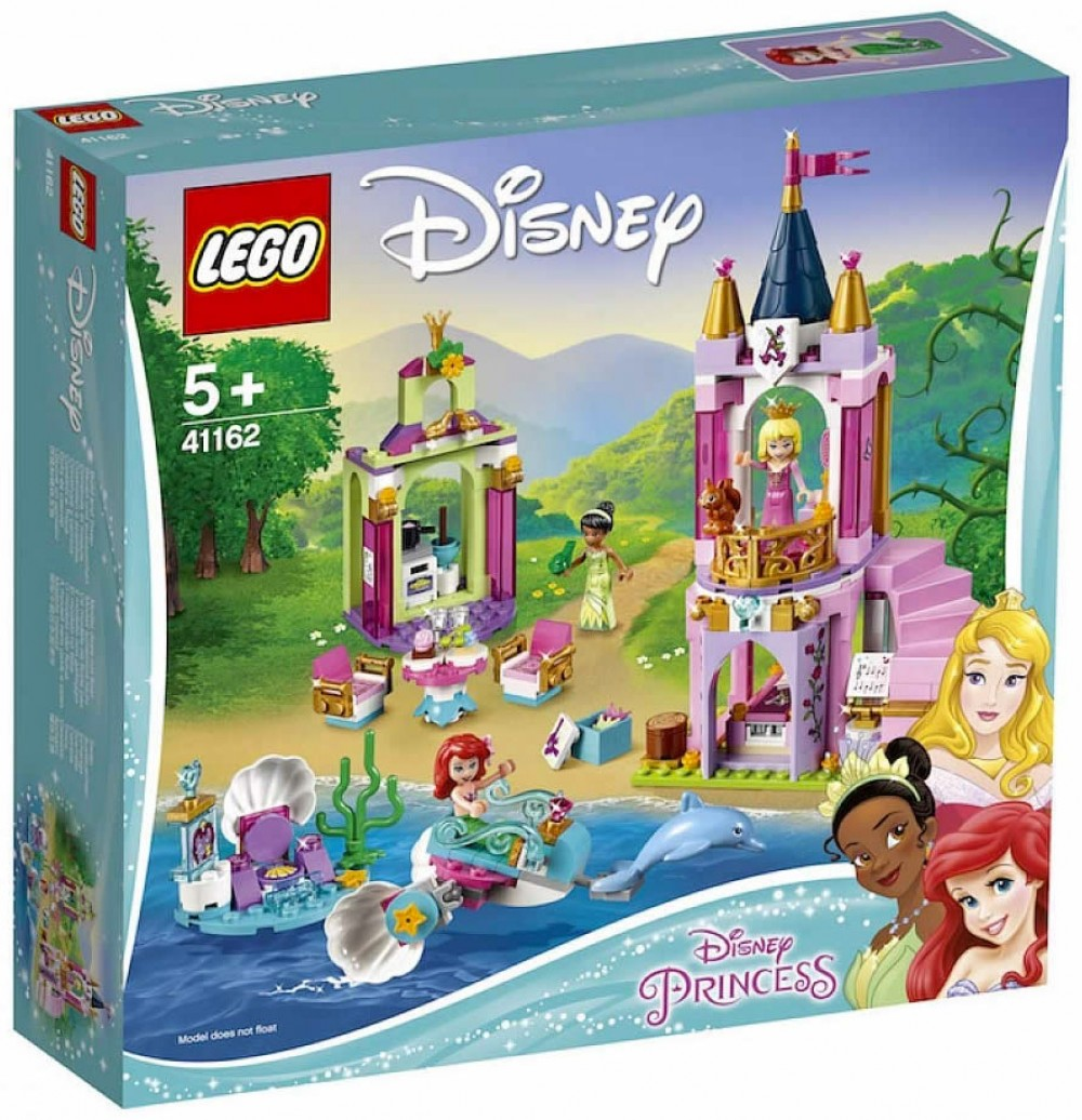 Nouveau LEGO Disney 41162 Ariel, Aurora, and Tiana's Royal Celebration 2019