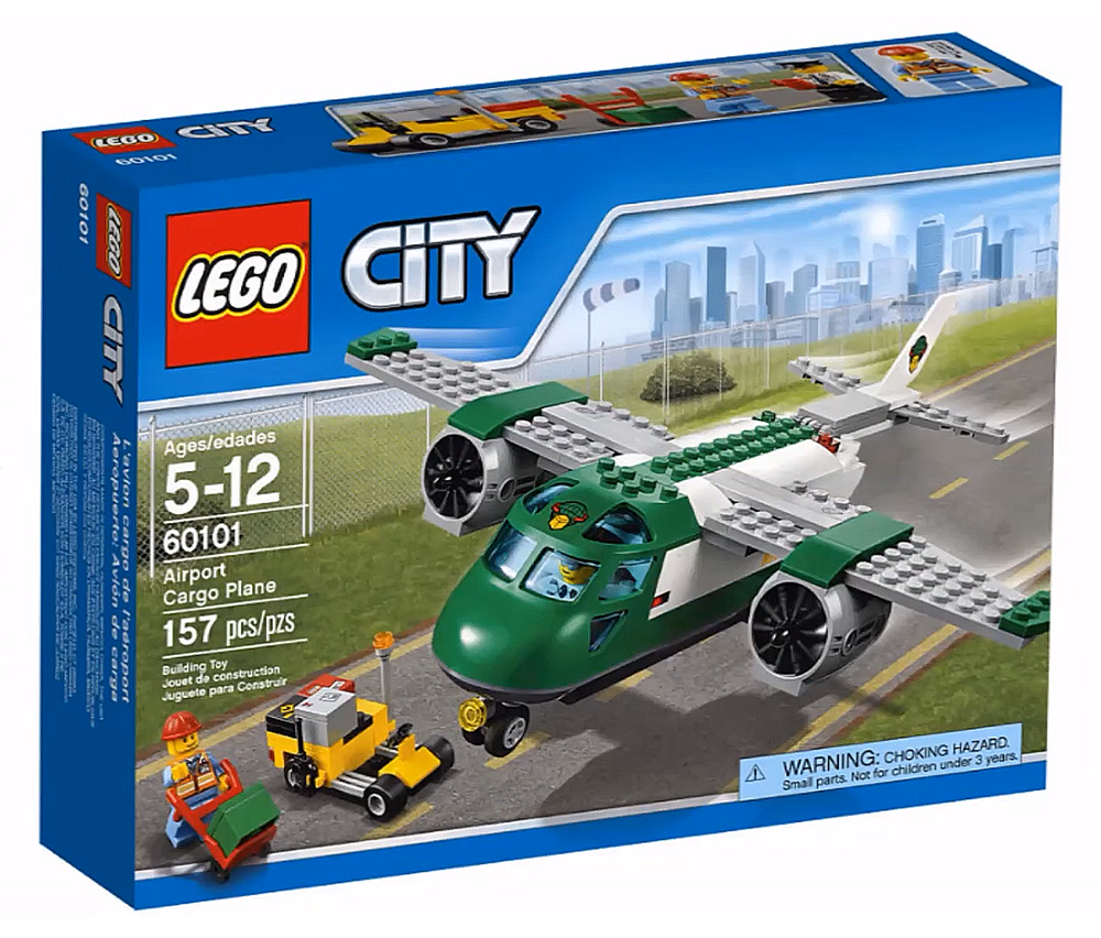 LEGO City Airport Cargo Plane - 60101 - Photo 1