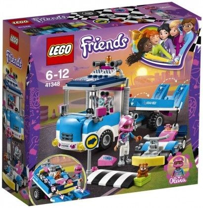 Nouveau LEGO Friends 41348 Service & Care Truck 2018