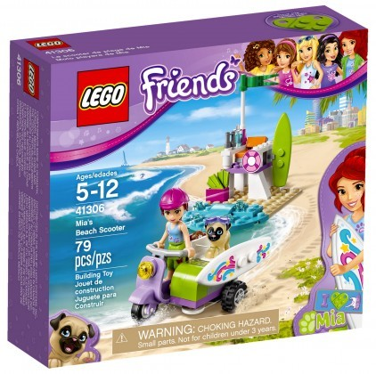 Nouveau LEGO Friends 41306 Mia's Beach Scooter