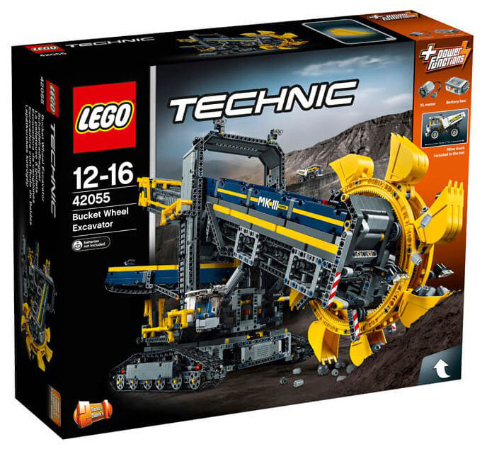 LEGO Technic 42055 - Bucket Wheel Excavator