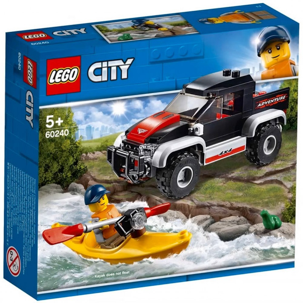 Nouveau LEGO City 60240 Kayak Adventure 2019