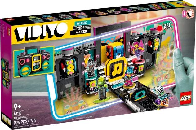 Nouveau LEGO VIDIYO 43115 The Boombox // Juin 2021
