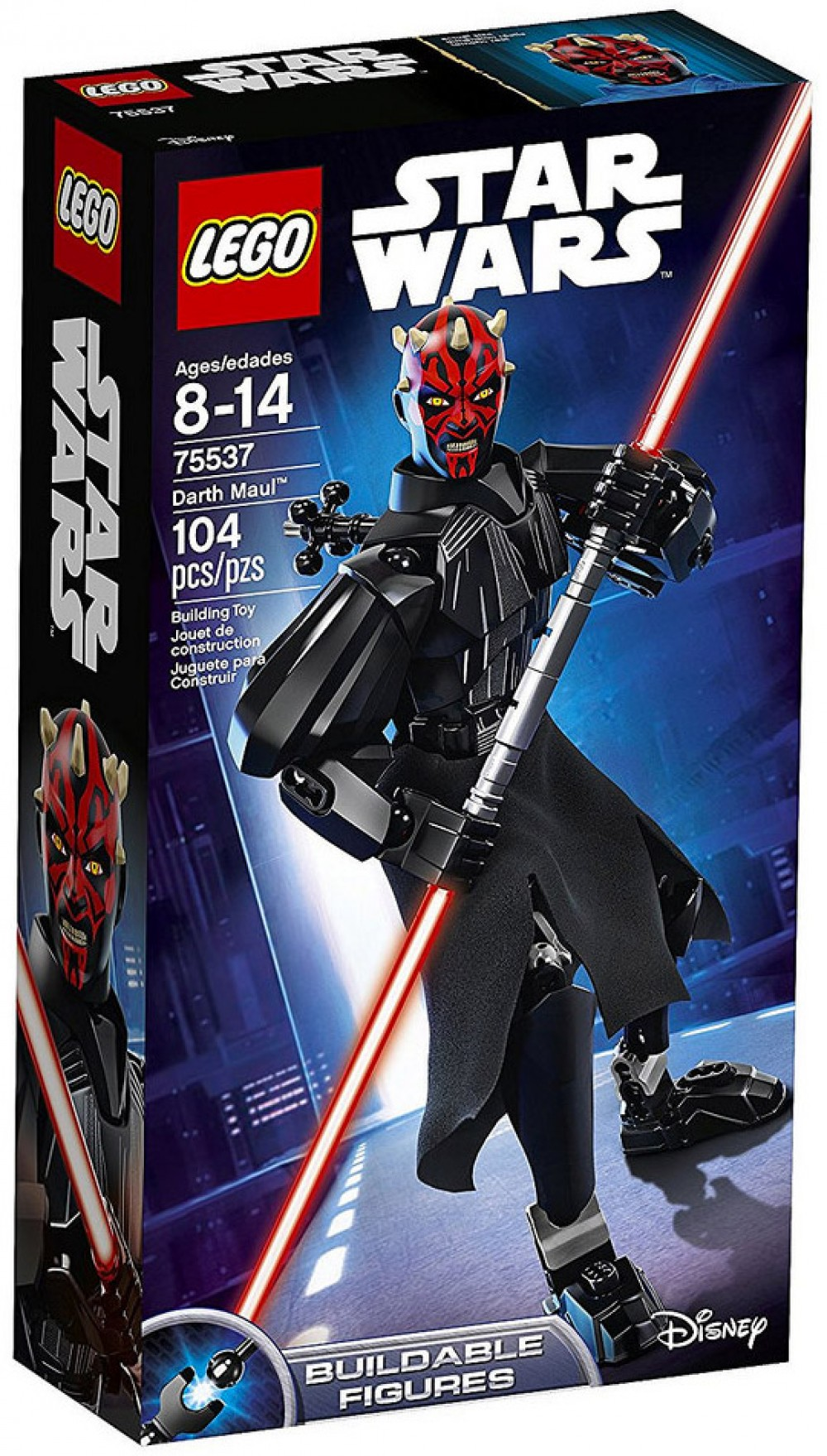 Nouveau LEGO Star Wars 75537 Darth Maul (Buildable Figures) 2018